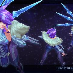 Frostblade Irelia Update Model 2 (by Riot Artist <a href=