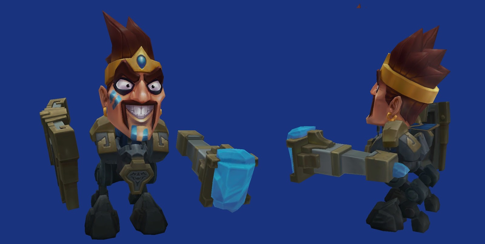 Minion Draven blue super