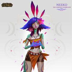 Concepto de Neeko 3 (por el artista de Riot, <a class=