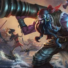 Pierwszy portret Ryze'a Pirata