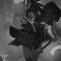 Blood Moon Akali Splash Update Concept 5 (by Riot Artist <a rel=