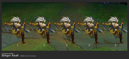 Akali Update Stinger concept 03