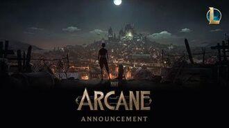 Arcane - Animowana seria (Riot Pls - Wydanie specjalne na 10-lecie)