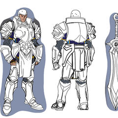 Demacia Soldier Concept 3 (by Riot Artist <a rel=