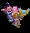 Lulu DragonTrainer (Rose Quartz)