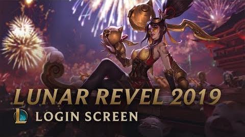 Lunar Revel 2019 Login Screen - League of Legends