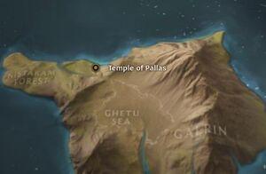 Pallas map