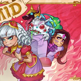 Sweetheart Annie Valentines Day 2015 Card Promo 2 (by Riot Contracted Artist <a rel=