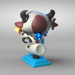 Moo Cow Alistar Statue Model 2 (by Riot Artists <a href=
