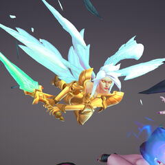 Kayle and Morgana Update Model 2 (by Riot Artists <a href=