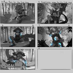 Concepto de la ilustración de Neeko Maravilla Invernal 1 (por el artista de Riot, <a rel=