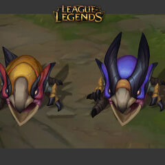 Odyssey Arcraptor and Skitterbeak Concept 1 (by Riot Artist <a rel=