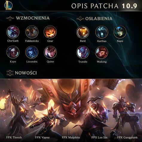 Opis patcha 10.9