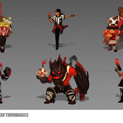 Legends of the Field Concept (by Riot Artist <a rel=