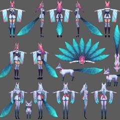 Spirit Blossom Ahri Model 3 (by Riot Artist <a href=