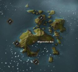 Bilgewater Bay map