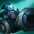 Blauer Belagerungsvasall Minion