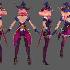 Bewitching Miss Fortune Model (by Riot Artist <a href=
