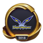 Worlds 2018 Flash Wolves (Gold) Emote