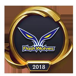 Worlds 2018 Flash Wolves (Gold) Emote