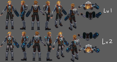 Ezreal Update Pulsfeuer- Model 01