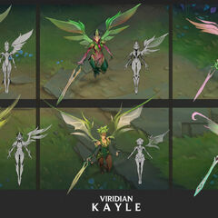 Viridian Kayle Update Concept 3 (by Riot Artist <a href=
