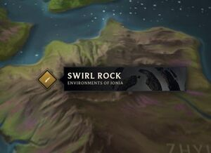 Swirl Rocks map