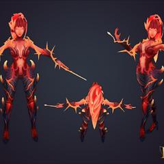 Wildfire Zyra Model 2 (by Riot Artist <a href=