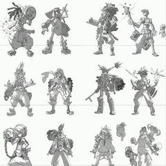 Ekko Concept 8 (by Riot Artist <a href=