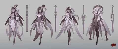 Irelia Himmlisches Schwert Konzept 01