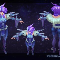 Frostblade Irelia Update Model 1 (by Riot Artist <a href=