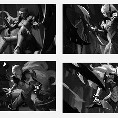 Nightblade Irelia Splash Update Concept 1 (by Riot Artist <a rel=