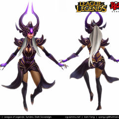 Syndra Model 3 (by Riot Artist <a rel=