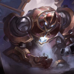 Hextech Galio Update Splash Concept 2 (by Riot Artist <a href=
