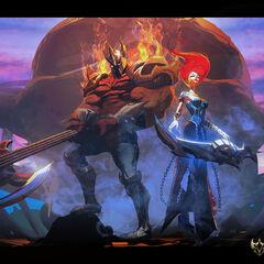 Koncept Sony z Pentakill - Mortal Reminder 1