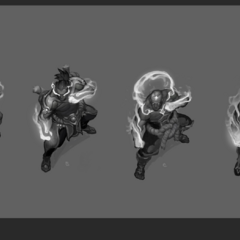 God Fist Lee Sin Concept 2 (by Riot Artist <a href=