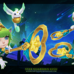 Star Guardian Lulu Model 1 (by Riot Artist <a href=