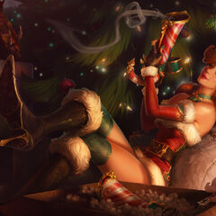 Candy Cane Miss Fortune Splash Update Concept 5 (by Riot Artist <a href=