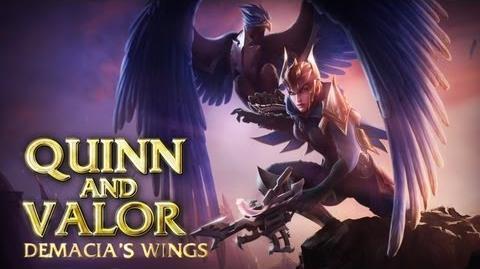 Prezentacja Bohatera - Quinn i Valor, Skrzydła Demacii