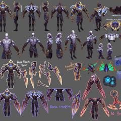 Galaxy Slayer Zed Model 1 (by Riot Artist <a href=