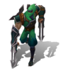 Zed Shockblade (Emerald)
