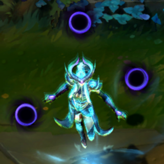 Champion with the 'Aspect of the Dragon' buff