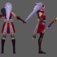 Blood Moon Diana Model