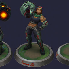 Resistance Illaoi Model 4 (by Riot Artist <a href=