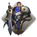 LoR Garen's Might Board icon