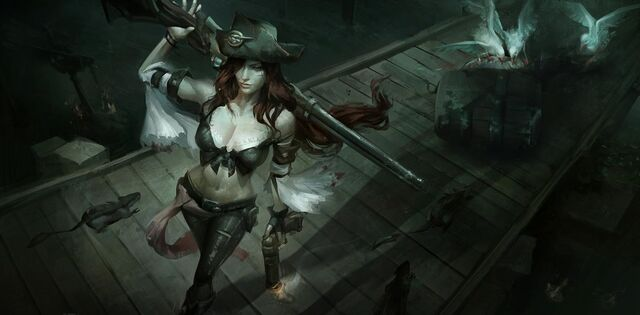 Miss Fortune Down Among the Dead Men 04