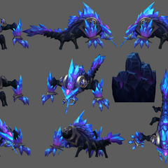 Blackfrost Rek'Sai Model
