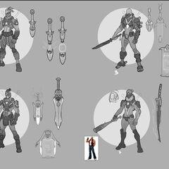 Pulsefire Shen Concept 1 (by Riot Artist <a href=