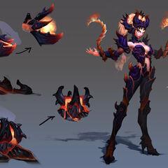 Wildfire Zyra Concept (by Riot Artist <a href=