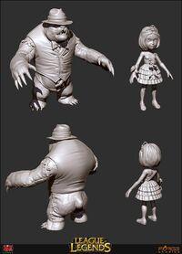 Annie Ballkönigin Konzept 3D